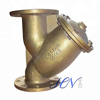 Bronze Flanged Pipe Y Type Strainer