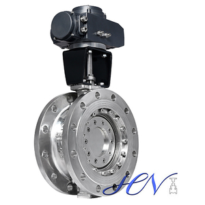Industrial Stainless Steel Flange Type Triple Eccentric Butterfly Valve