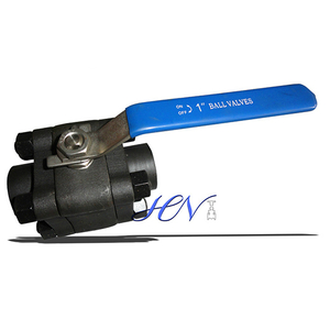 Forged Steel ASTM A105 Threaded Ends Floating Ball Valve