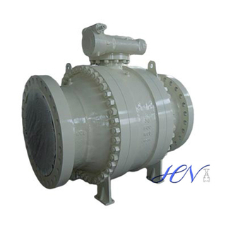 Full Bore Trunnion Mounted Cast Steel Ball Valve