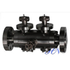 Double Block and Bleed Forged Steel Lever Operated Floating Ball Valve