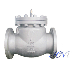 Bolt Cover Carbon Steel Horizontal Swing Check Valve Gas Line