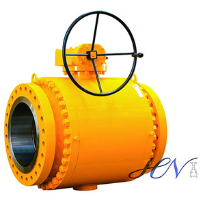 ASTM A105 Forged Steel Trunnion Mounted Ball Valve
