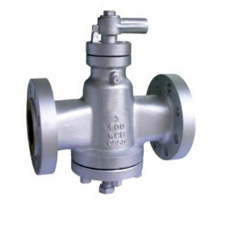 Flanged Carbon Steel Lubricated Plug Valve