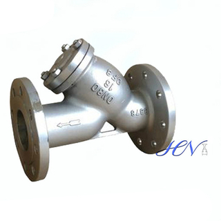 Stainless Steel Flanged Y Type Strainer