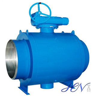 Gear Operated Side Entry Trunnion Mounted Fully Welded Body Ball Valve