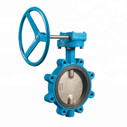 Soft Seated Lug Type Cast Iron Concentric Butterfly Valve