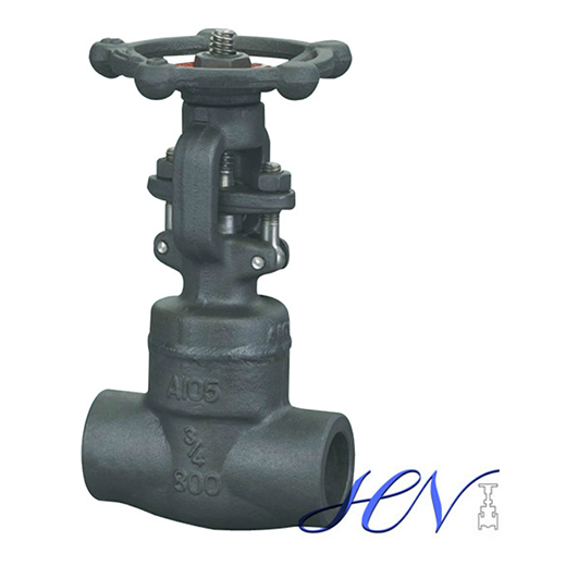 SW Forged Carbon Steel Solid Gate Valve