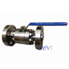Lever Operated SS 316L Flanged Floating Ball Valve