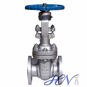 Sour Service Stainless Steel Flanged Disc Manual Operated Gate Valve