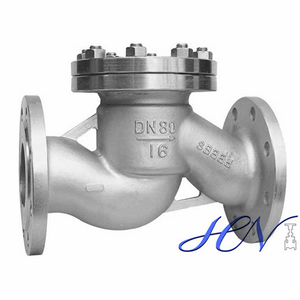 Stainless Steel Spring Loaded Oil Horizontal Lift Check Valve