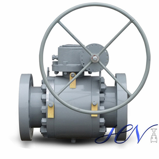 Metal Seat Forged Side Entry Trunnion Mounted Ball Valve