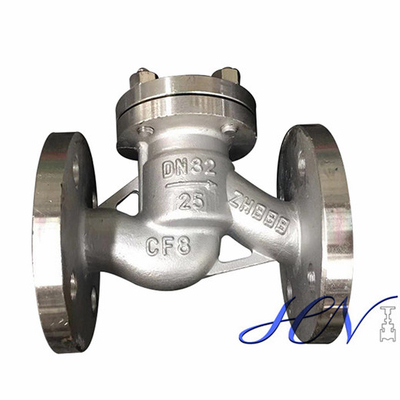 Stainless Steel Flanged Drain Backflow Lift Check Valve