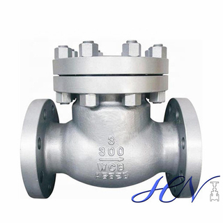 Gas Line Carbon Steel Flanged Industrial Low Pressure Swing Check Valve