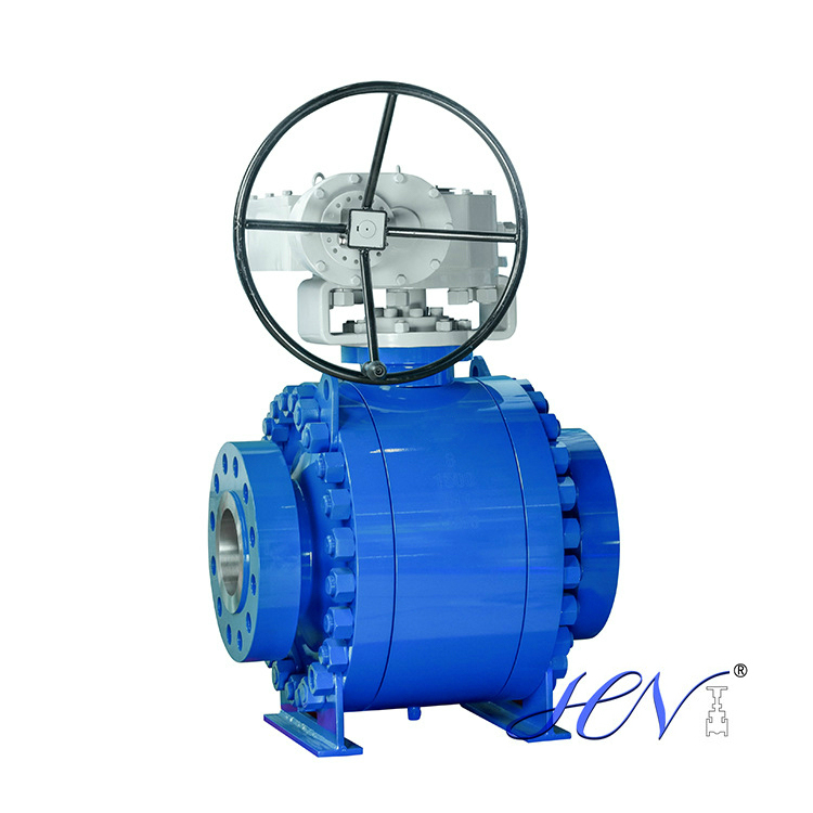 Side Entry 3-PC Forged Steel Trunnion Mounted Ball Valve