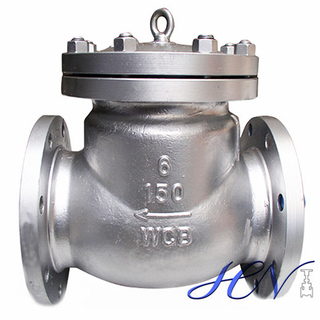 Bolted Cover Flanged Industrial Air Pump Swing Check Valve