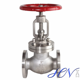 Industrial Flanged Handwheel Low Pressure Stainless Steel Globe Valve
