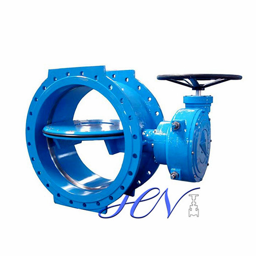 Worm Gear Cast Iron Flange Type Soft Sealing Concentric Butterfly Valve