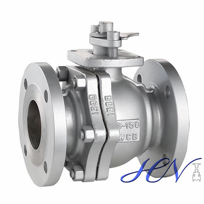 Industrial Carbon Steel Flanged Soft Sealing Floating Ball Valve