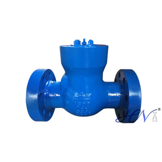 Pressure Seal Cover Low Temperature Carbon Steel Flanged Gas Swing Check Valve