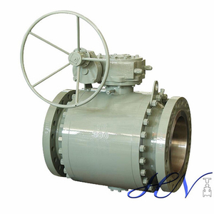 Pipeline High Pressure Forged Side Entry Trunnion Mounted Ball Valve