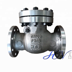 Bolted Cover Carbon Steel Flanged Water Swing Check Valve