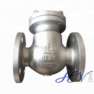 Non-return Stainless Steel Flanged Low Pressure Swing Check Valve