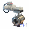 Electric Flanged Stainless Steel Side Entry Trunnion Ball Valve