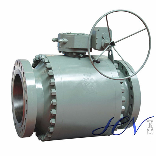 Flanged Forged Side Entry Trunnion Mounted Ball Valve