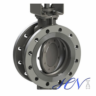 Flange Type Stainless Steel Manual Triple Eccentric Butterfly Valve