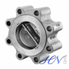 Oil One Way Stainless Steel Lug Type Dual Check Valve