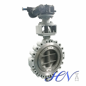 Gear Operated Lug Type Carbon Steel WCB Butterfly Valve