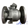Gas Line Flanged Lever Operated Cast Steel Floating Ball Valve