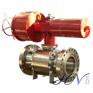 Pneumatic Actuated Bronze Flanged Fire Safe Ball Valve