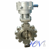 Stainless Steel Fully Lugged Industrial Triple Offset Butterfly Valve