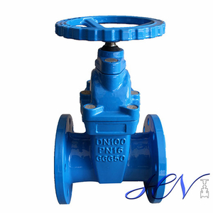 Resilient Seated Cast Iron Flanged Non-rising Stem Gate Valve