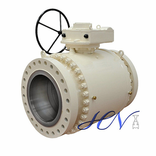Gear Operated Forged Steel Full Bore Trunnion Mounted Ball Valve
