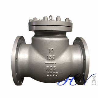 Hot Water Heater Carbon Steel Flanged Industrial Swing Check Valve
