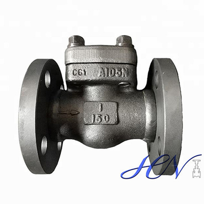 Forged Steel Backflow Flanged Spring Loaded Piston Check Valve