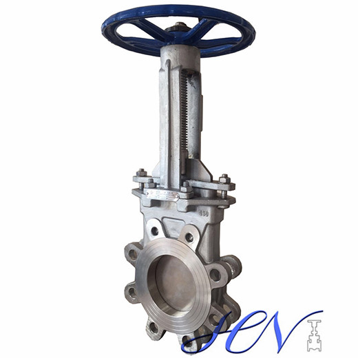 Carbon Steel Low Pressure Water Lug Type Knife Gate Valve