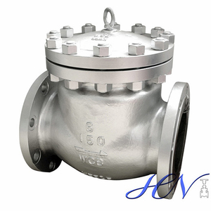 Horizontal Low Pressure Carbon Steel Flanged Swing Check Valve
