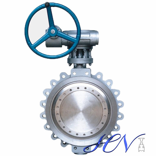 WCB Fully Lugged Double Offset Carbon Steel Industrial Butterfly Valve