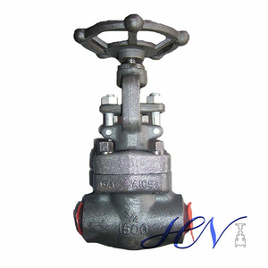 Butt Welding Forged Steel Water Manual Solid Gate Valve