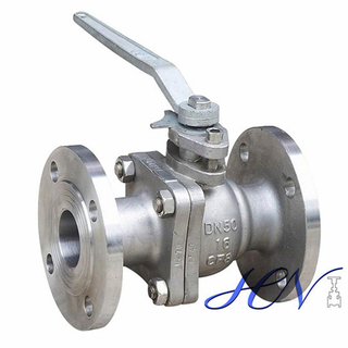 Natural Gas Fire Safe Flanged Stainless Steel Floating Ball Valve