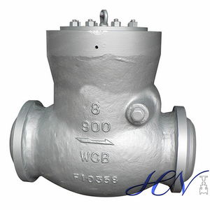 Gas Line High Pressure Carbon Steel Pressure Seal Cover Swing Check Valve