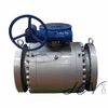 Gas Line Full Bore Flanged Forged Steel Trunnion Mounted Ball Valve