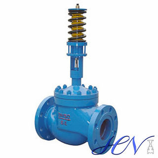 Self-acting Carbon Steel Differential Pressure Flanged Control Valve